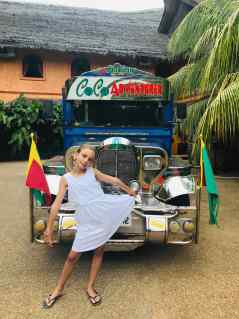 Le beau Jeepney du Coco Grove - Siquijor - Philippines