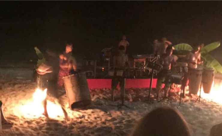 Spectacle de jonglage avec le feu - Siquijor - Philippine