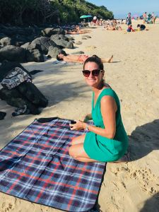 Julie-Anne à la plage, So British ! - Gold Coast - Australie