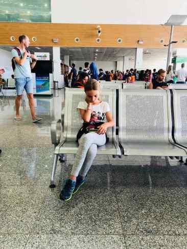 Aéroport de Cebu - Avant l'embarquement - Philippines
