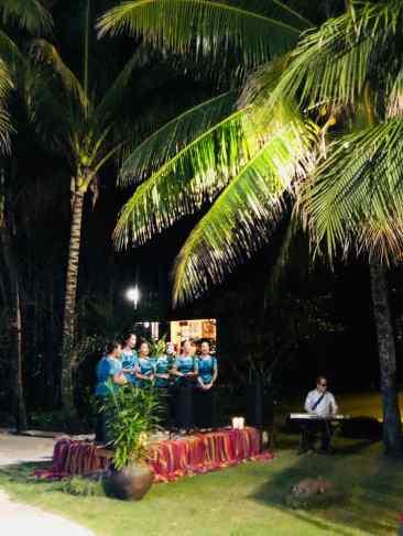 Chorale de Noel au Coco Grove - Siquijor - Philippines