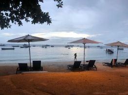 Alona Beach sous la pluie - Panglao - Philippines