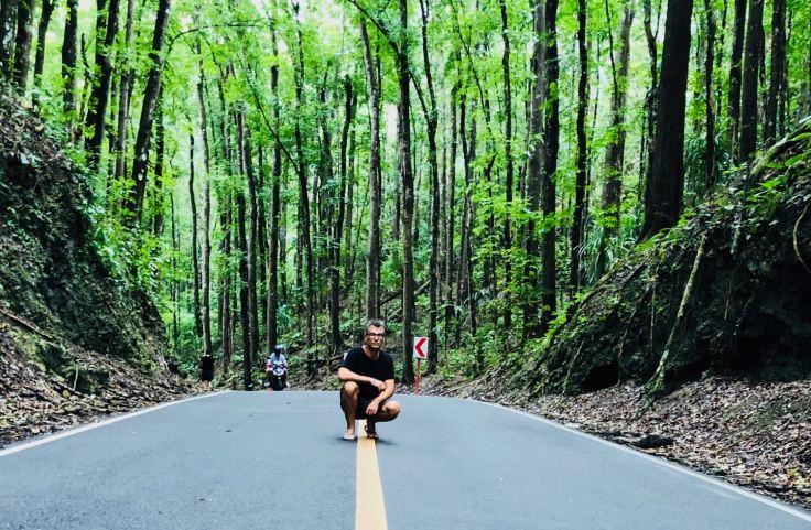Geoffrey dans la forêt de Bihar - Bohol - Philippines