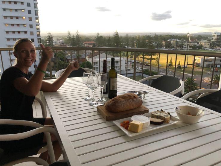Vue depuis la terrasse de chez Julie-Anne - Gold Coast - Australie
