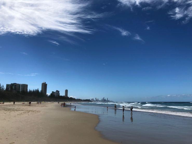 Plage infinie - Gold Coast - Australie