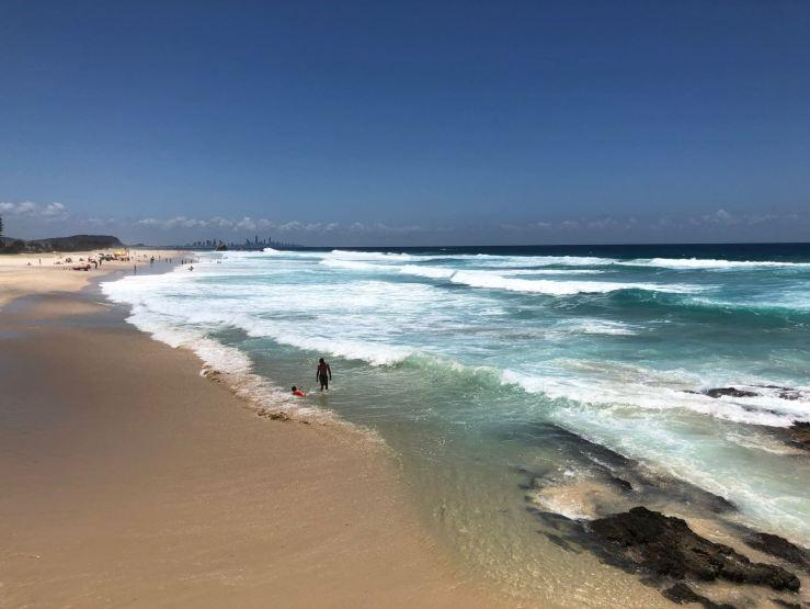 Les vagues australiennes ! - Gold Coast - Australie