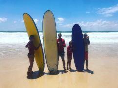 Famille de surfeurs - Gold Coast - Australie