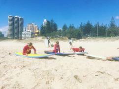 Leçon de surf - Gold Coast - Australie