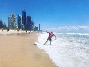Whaou ! Geoffrey s'est mis debout ! - Gold Coast - Australie