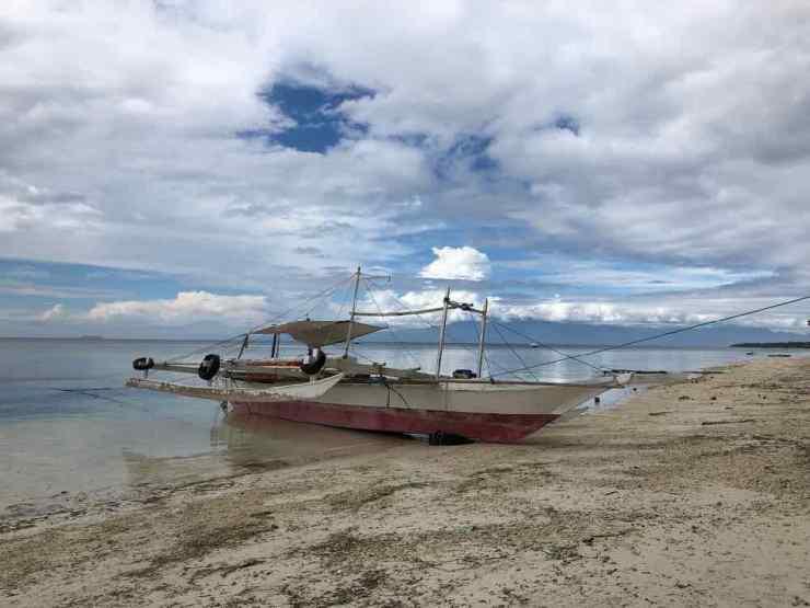 Bangka sur la plage - Siquijor - Philippines