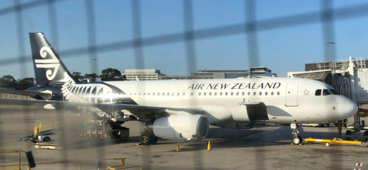 Air New Zealand, sont trop beaux ces avions avec leur tatouage Maori sur la queue ! - Aukland - Nouvelle-Zélande