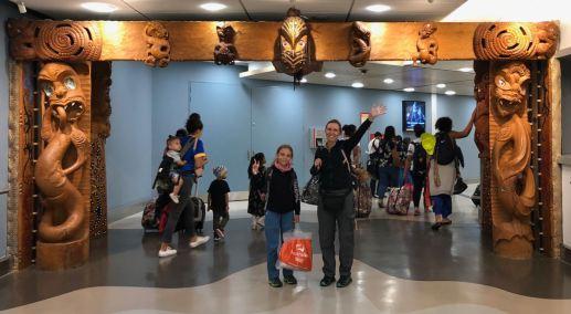 Welcome to New Zealand ! - Aéroport d'Aukland - Nouvelle Zélande