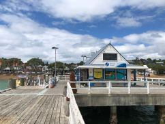 Le ponton et l'office de tourisme de Russel - Bay of Island - Nouvelle-Zélande