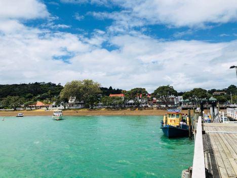 Elle serait pas un peu turquoise, l'eau ? - Plage de Russel -Bay of Island - Nouvelle-Zélande