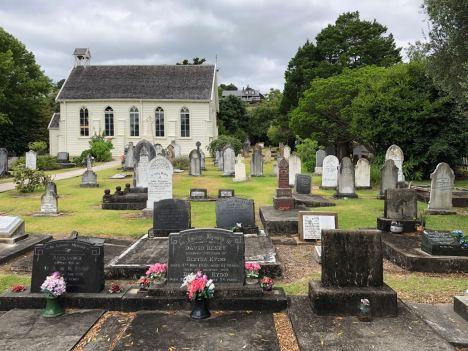 Christ Church, la plus vieille église anglicane de Nouvelle Zélande - Russel - Bay of Island - Nouvelle Zélande