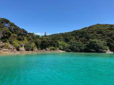 Pause dejeuner dans le turquoise - Bay of Island en voilier - Nouvelle Zélande