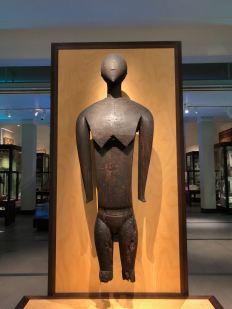 Sculpture Maori - Musée d'Auckland - Nouvelle-Zélande