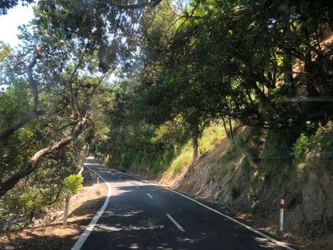Hum...pas large la route pour un campervan...- Coromandel - Nouvelle Zélande