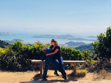 Récompense de fin de balade et paysage de dingue - Coromandel - Nouvelle Zélande