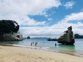 Cathedral Cove côté plage - Coromandel - Nouvelle Zélande