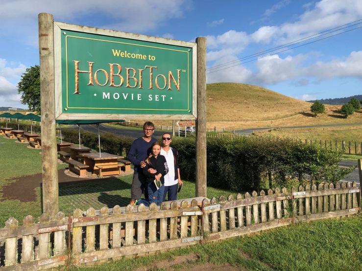 Arrivée matinale à Hobbiton - Nouvelle-Zélande