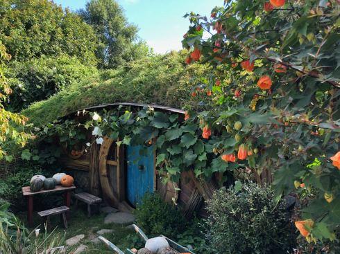 Premier trou de Hobbit - Hobbiton - Nouvelle-Zélande