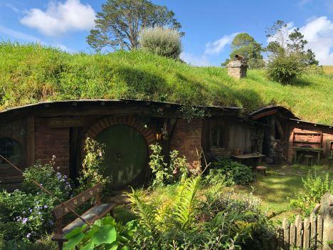 Trou de Hobbit- Hobbiton - Nouvelle-Zélande