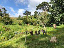 Linge de Hobbit - Hobbiton - Nouvelle-Zélande
