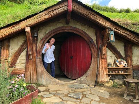 Hello ! Ce serait sympa d'habiter ici - Hobbiton - Nouvelle-Zélande