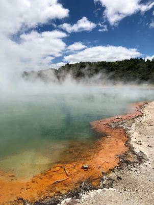 Champagne Pool - Wai O Tapu - Nouvelle-Zélande