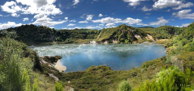 Frying Pan Lake - Wanganu - Nouvelle-Zélande