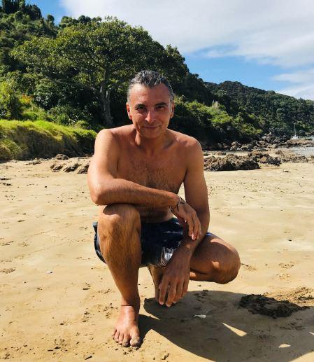 Ca va bien à Geo, le soleil - Long Beach - Russel - Bay of Island - Nouvelle Zélande