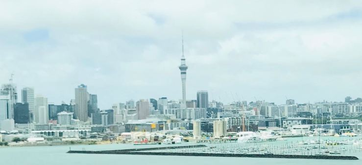 Aukland - Vue sur la City - Nouvelle-Zélande