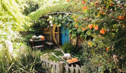Trou de Hobbit - Hobbiton - Nouvelle-Zélande