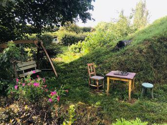 Jardin de Hobbit et jeu d'échecs - Hobbiton - Nouvelle-Zélande