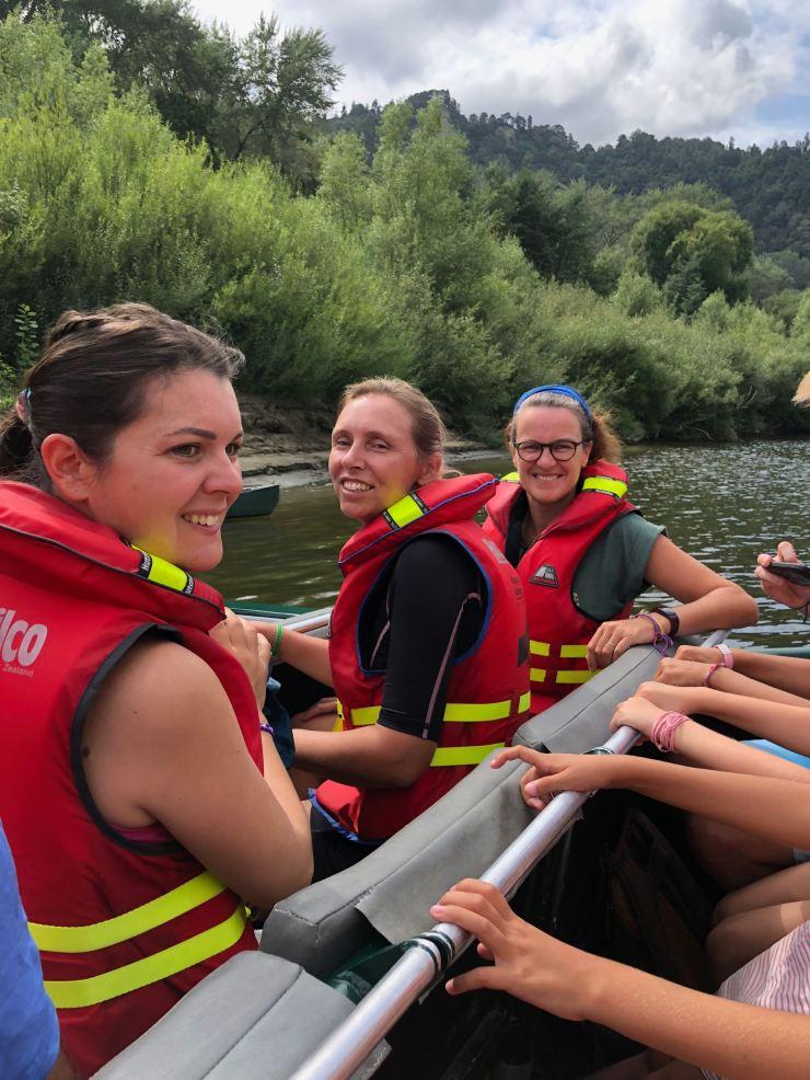 Le clan des mamans - Whanganui River - Nouvelle-Zélande