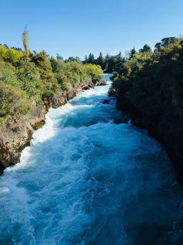 Huka Falls - Taupo - Nouvelle-Zélande