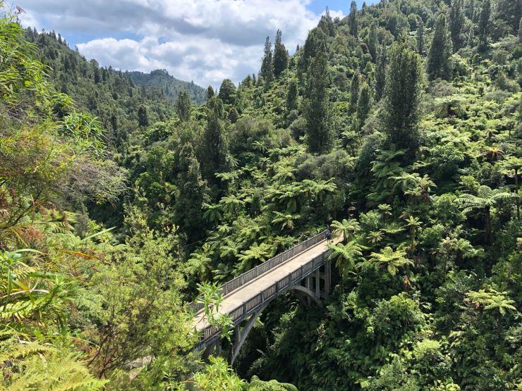 Bridge to Nowhere (le pont vers nulle part) - Whanganui River - Nouvelle-Zélande