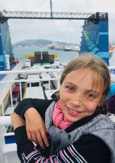 Au revoir Wellington ! - Dans le ferry vers l'île sud - Wellington - Nouvelle-Zélande