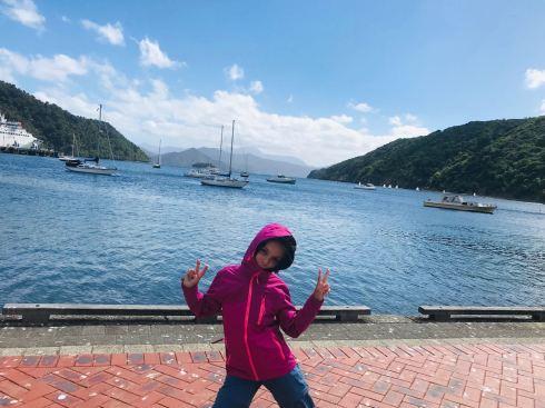 Port de Picton le matin - Fait pas chaud ! - Nouvelle-Zélande