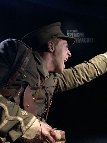 Personnage de cire géant - Expo WWI - Musée Te Papa - Wellington - Nouvelle-Zélande