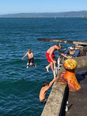 Jeux d'été - Wellington - Nouvelle-Zélande