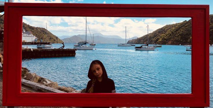 Photo souvenir de Picton - Nouvelle-Zélande