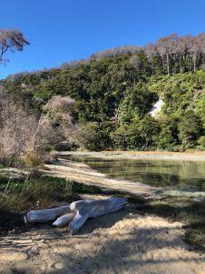 Lac salé - Parc Abel Tasman - Nouvelle-Zélande