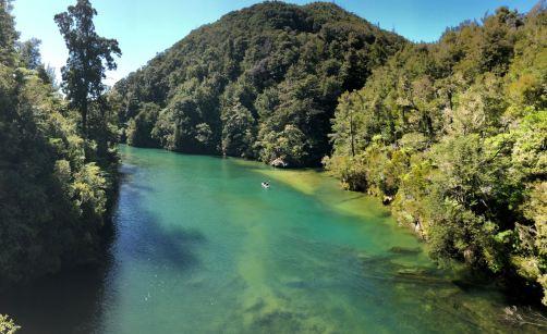 Rivière - Parc Abel Tasman - Nouvelle-Zélande