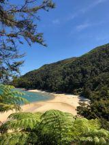 Et tout à coup une jolie plage apparait... - Parc Abel Tasman - Nouvelle-Zélande