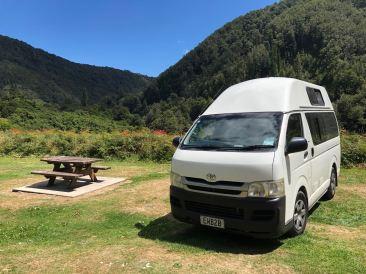 Bel endroit pour un pique-nique - Buller River - Nouvelle-Zélande