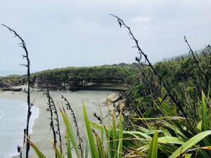 Ce qu'on a pris pour les pancake rocks - Punakaiki - Nouvelle-Zélande