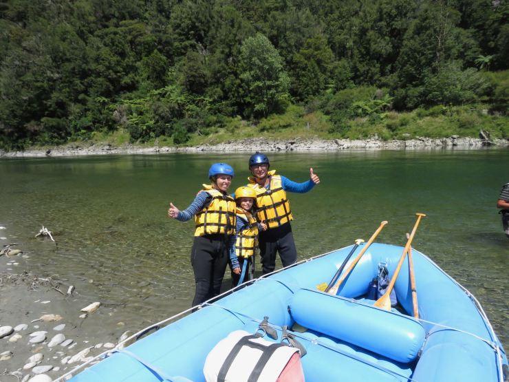 C'est parti pour la descente de la Buller River en rafting ! - Nouvelle-Zélande