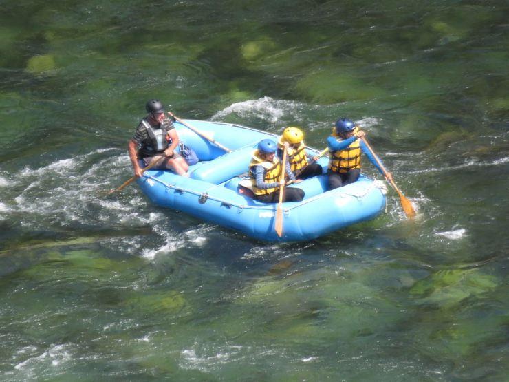 Jusqu'ici tout va bien - Buller River - Rafting - Nouvelle-Zélande